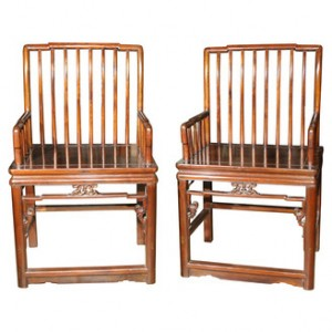 Chinese Arm Chairs