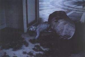 Deborah Turbeville from the Pucci invitation