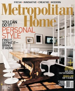 My work on the Met Home cover, December 2008