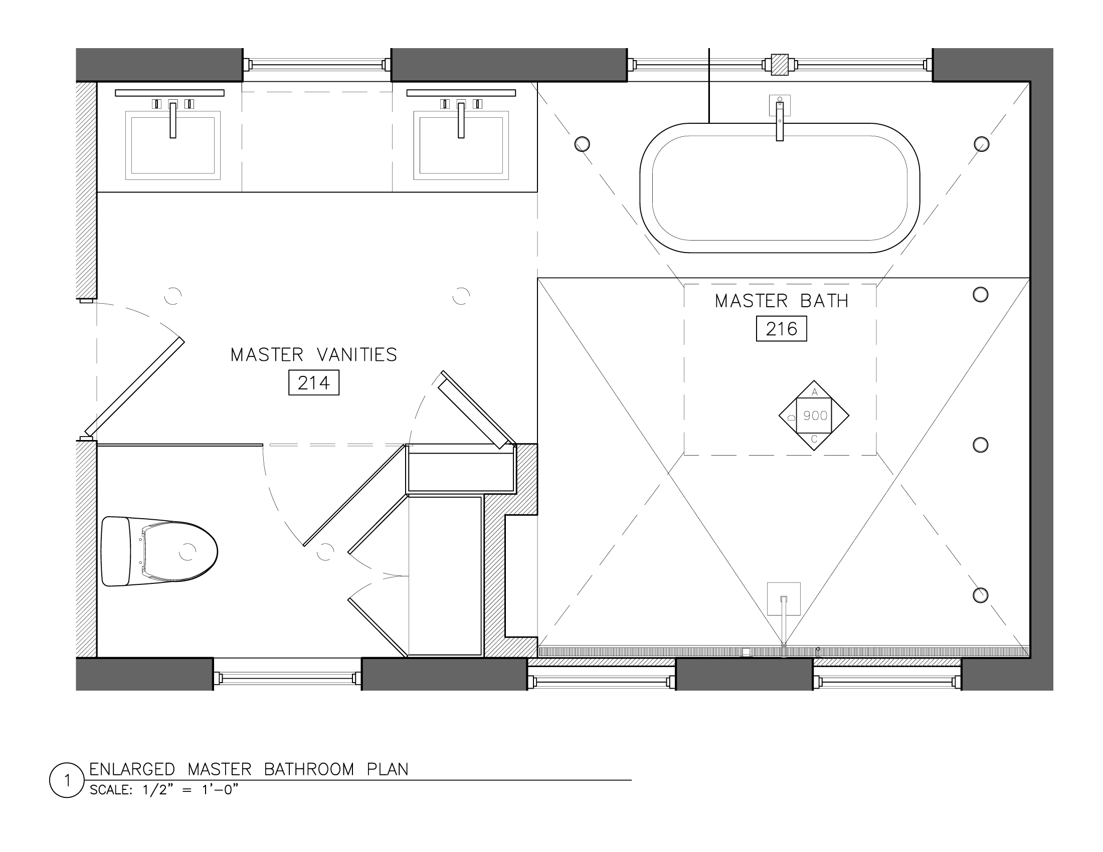 Master bathroom floor plans - Plans Design Projects House Ideas Master Bath