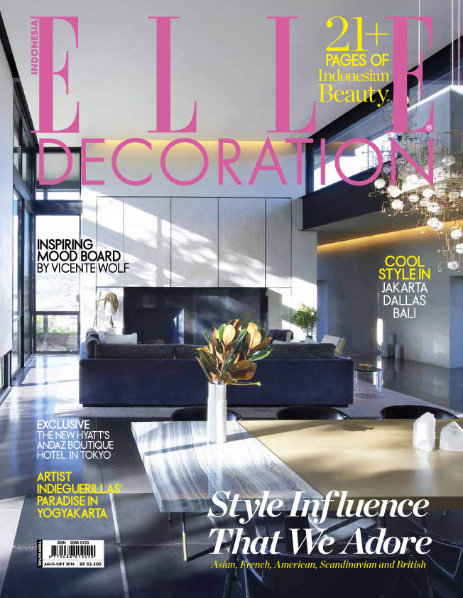 COVER ELLE DECOR Indonesia AGUSTUS-SEPTEMBER 2014-1
